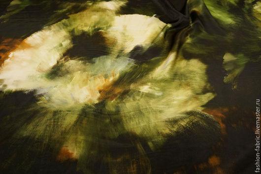 Шитье ручной работы. Ярмарка Мастеров - ручная работа. Купить Ткань Шелк Glacerea 11059978 Италия Цена за метр. Handmade.