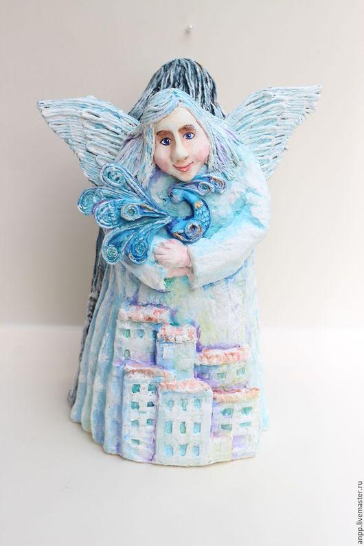 Статуэтки ручной работы. Ярмарка Мастеров - ручная работа. Купить Ангел День-Ночь. Handmade. Комбинированный, авторская ручная работа