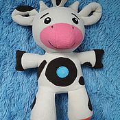 Куклы и игрушки handmade. Livemaster - original item Cow Dot Tiny Love DVD MagiQ 30 cm. Handmade.