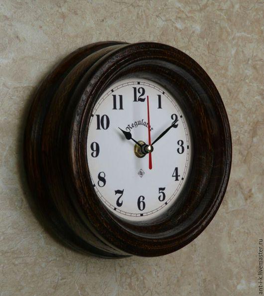 Часы для дома ручной работы. Ярмарка Мастеров - ручная работа. Купить Часы настенные каютные. N 3. Handmade. Коричневый