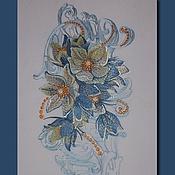 Материалы для творчества handmade. Livemaster - original item Flower