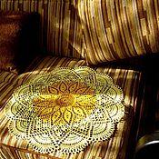 Для дома и интерьера ручной работы. Ярмарка Мастеров - ручная работа Салфетка большая 042, 52 см. Handmade.