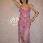 """Одежда ручной работы. Ярмарка Мастеров - ручная работа Платье """"Ажурные брызги"""". Handmade."""