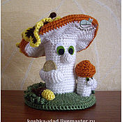"""Куклы и игрушки ручной работы. Ярмарка Мастеров - ручная работа Талисман """"Денежные грибы"""". Handmade."""