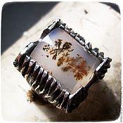 Украшения handmade. Livemaster - original item Ring silver with dendrogam