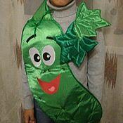 """Работы для детей, ручной работы. Ярмарка Мастеров - ручная работа Детский костюм для утренника """" Огурец"""". Handmade."""