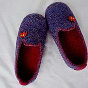 """Обувь ручной работы. Ярмарка Мастеров - ручная работа тапочки детские  валяные """" Слоники"""". Handmade."""