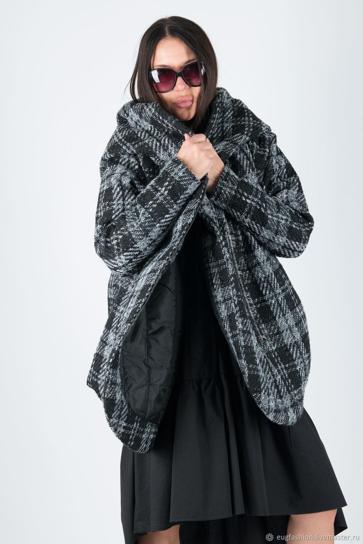 Winter wool coat with warm lining-CT0050WB0YV, Coats, Sofia,  Фото №1