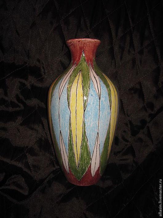 """Вазы ручной работы. Ярмарка Мастеров - ручная работа. Купить ваза """"полоски"""". Handmade. Ваза, авторская керамика, для дома и интерьера"""