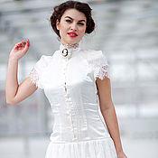 """Одежда ручной работы. Ярмарка Мастеров - ручная работа Шелковое платье """"Камея"""". Handmade."""