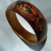 Украшения ручной работы. Ярмарка Мастеров - ручная работа Браслет из дерева. Handmade.