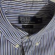 Винтаж handmade. Livemaster - original item Men`s shirt,100% cotton,vintage Switzerland,size 60. Handmade.