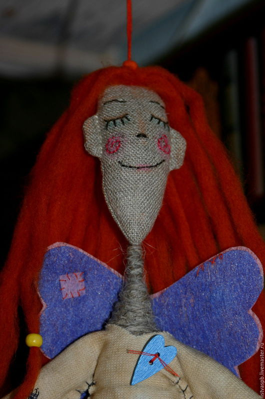Сказочные персонажи ручной работы. Ярмарка Мастеров - ручная работа. Купить Ангел Оранжевое счастье. Handmade. Рыжий, ручная работа