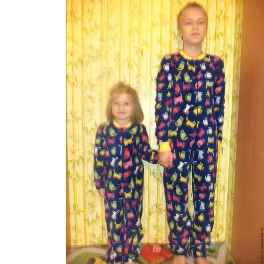 Одежда унисекс ручной работы. Ярмарка Мастеров - ручная работа. Купить Поддевка под комбинезон, пижама. Handmade. Рисунок, для детей