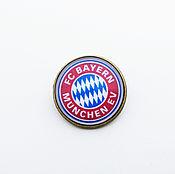 Украшения handmade. Livemaster - original item Icon football club of Bavaria. Handmade.