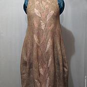 """Одежда ручной работы. Ярмарка Мастеров - ручная работа Платье - сарафан """" Вьюнок"""" войлок ( баллон). Handmade."""