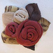 Украшения ручной работы. Ярмарка Мастеров - ручная работа букет роз. Handmade.