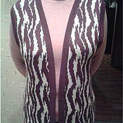 Одежда ручной работы. Ярмарка Мастеров - ручная работа Женский жилет. Handmade.