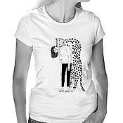 Одежда handmade. Livemaster - original item T-shirt Burden of feelings. Handmade.