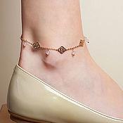 Украшения handmade. Livemaster - original item Bracelet on the leg