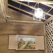 Дизайн и реклама ручной работы. Ярмарка Мастеров - ручная работа Окно в Тоскану. Handmade.