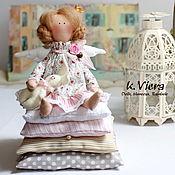 Куклы и игрушки ручной работы. Ярмарка Мастеров - ручная работа Принцесса на горошине тильда ангел. Handmade.