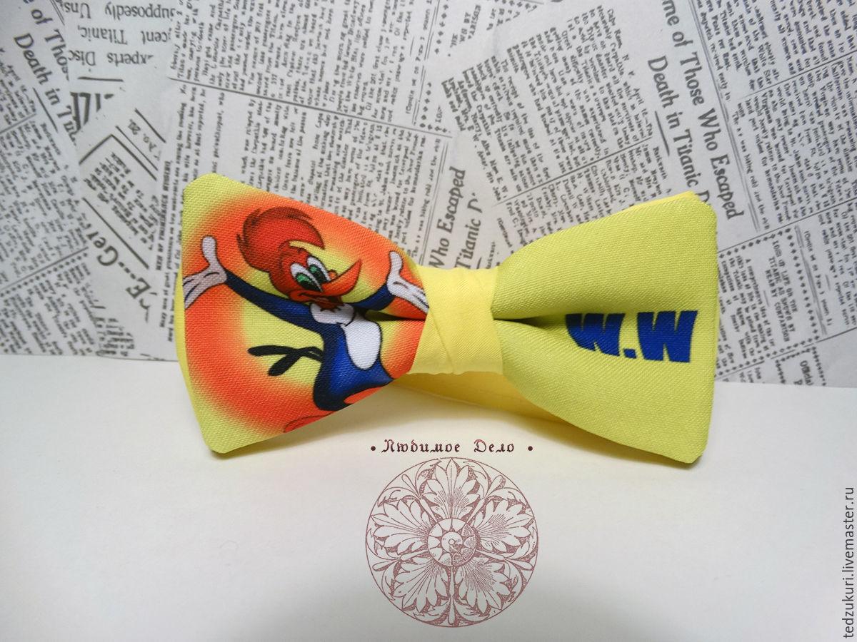 Tie woody Woodpecker/ woody Woodpecker/ cartoons/ animated series, Butterflies, Rostov-on-Don,  Фото №1