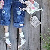 Куклы и игрушки ручной работы. Ярмарка Мастеров - ручная работа кукла тильда ручной работы САДОВНИЦА. Handmade.