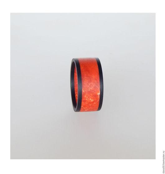 Кольца ручной работы. Ярмарка Мастеров - ручная работа. Купить Яркое колечко из дерева.. Handmade. Комбинированный, яркое украшение