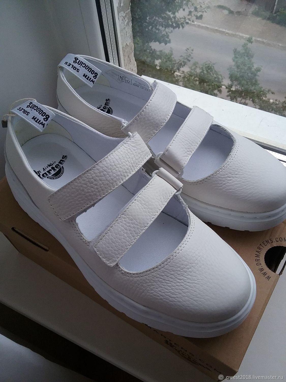 Туфли белые Dr.Martens размер 39,40, Обувь, Самара, Фото №1