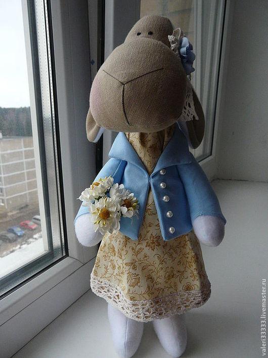 """Коллекционные куклы ручной работы. Ярмарка Мастеров - ручная работа. Купить овечка """"нежность"""". Handmade. Овечка, бесплатная доставка"""