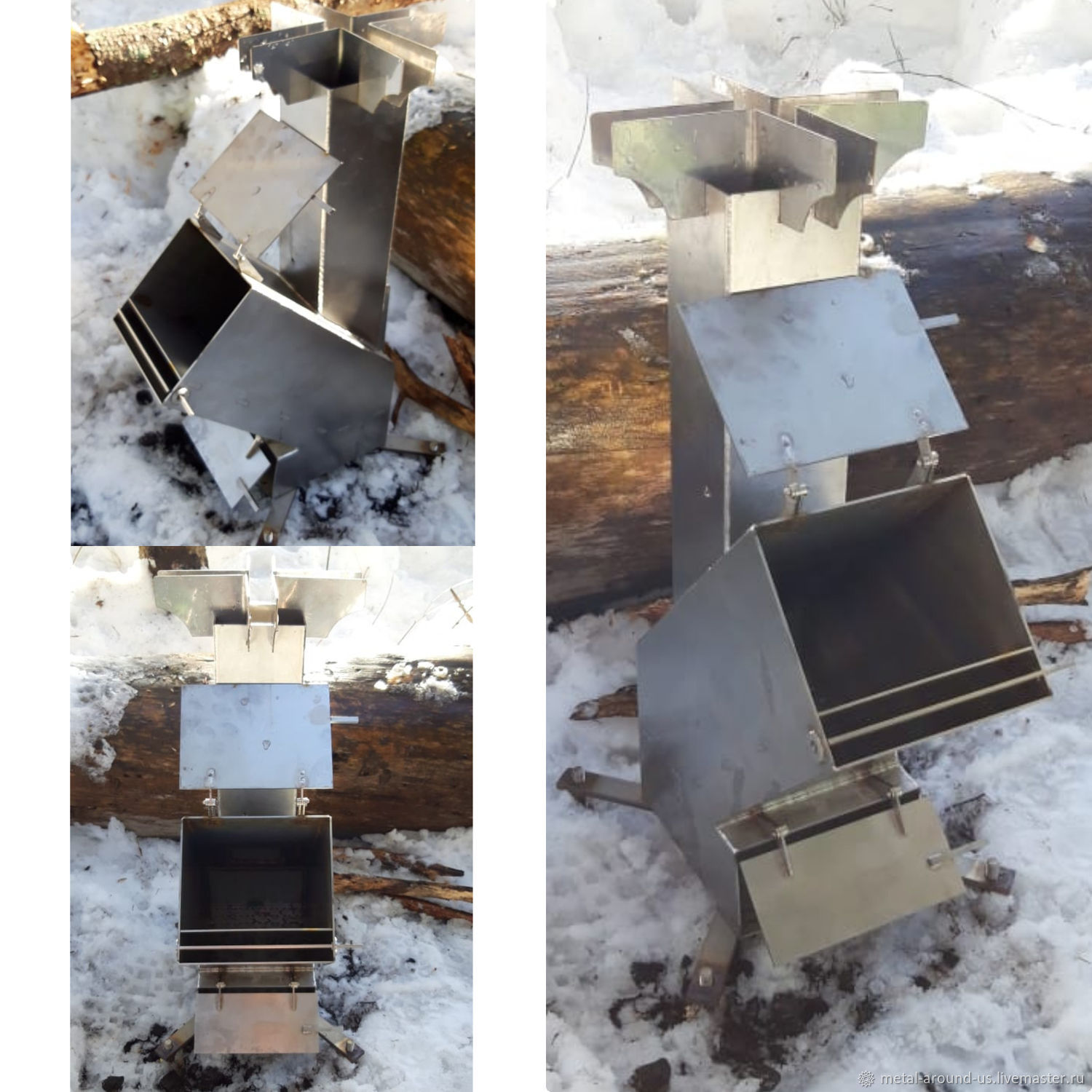 Rocket stove TAIGA, Grills and barbecue, St. Petersburg,  Фото №1