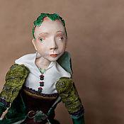 Куклы и игрушки ручной работы. Ярмарка Мастеров - ручная работа Коллекционная кукла Лопух подвижная будуарная кукла. Handmade.