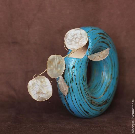 Вазы ручной работы. Ярмарка Мастеров - ручная работа. Купить Ваза керамическая Голубая мечта. Handmade. Необычная ваза