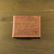 Сумки и аксессуары handmade. Livemaster - original item Wallet brown leather. Handmade.