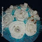 Цветы и флористика ручной работы. Ярмарка Мастеров - ручная работа Букеты из конфет. Handmade.