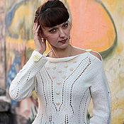 """Одежда ручной работы. Ярмарка Мастеров - ручная работа Пуловер """"Два пути"""". Handmade."""