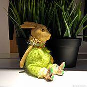 Куклы и игрушки handmade. Livemaster - original item Wooden Bunny/wooden toys. Handmade.