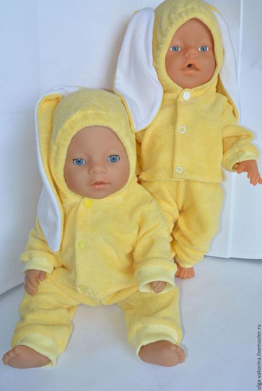 Одежда для кукол ручной работы. Ярмарка Мастеров - ручная работа. Купить комплект одежды для кукол Бэби Бон 43 см Солнечный зайчик. Handmade.