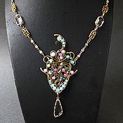 Украшения handmade. Livemaster - original item Flaming Gothic Necklace Pendant. Handmade.