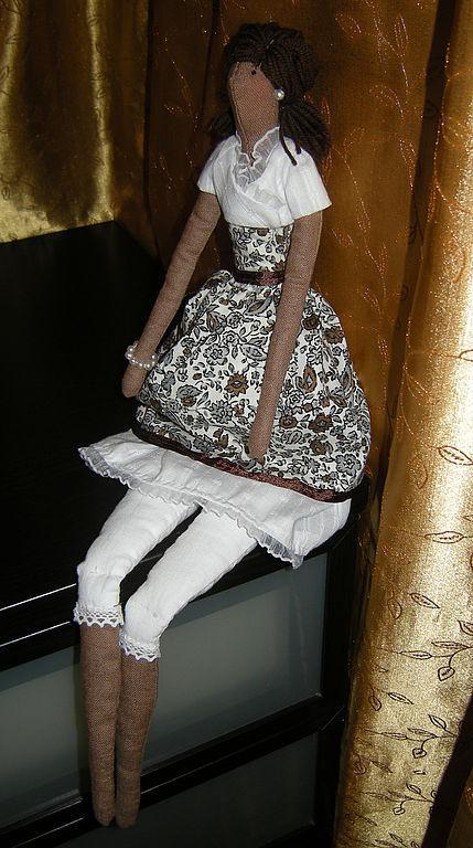 Куклы Тильды ручной работы. Ярмарка Мастеров - ручная работа. Купить Барышня Тася - текстильная кукла. Handmade. Интерьерная кукла