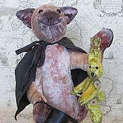 Куклы и игрушки ручной работы. Ярмарка Мастеров - ручная работа Кот Мупс фокусник. Handmade.