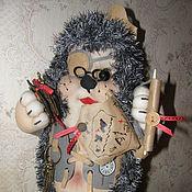 Куклы и игрушки ручной работы. Ярмарка Мастеров - ручная работа Ёжик текстильный. Handmade.