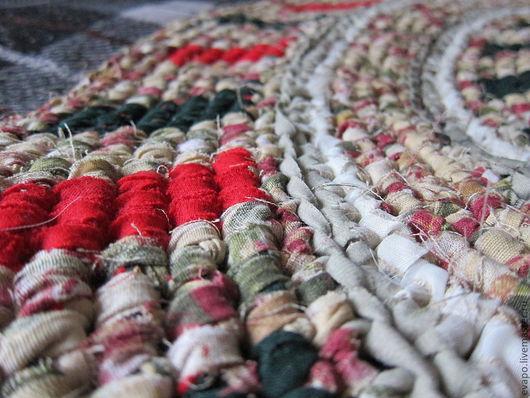 """Текстиль, ковры ручной работы. Ярмарка Мастеров - ручная работа. Купить Коврик """"К Яблочному Спасу"""". Handmade. Круг"""