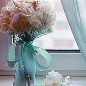 Свадебный салон ручной работы. Ярмарка Мастеров - ручная работа Бирюзовая-морская свадьба. Handmade.