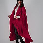 Одежда handmade. Livemaster - original item Cashmere coat, demi-season-CT0001CA. Handmade.
