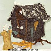 Куклы и игрушки ручной работы. Ярмарка Мастеров - ручная работа Избушка Бабы-Яги. Handmade.