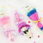 """Цветы и флористика ручной работы. Ярмарка Мастеров - ручная работа Букет из 1 игрушки на годик """"Мини"""". Handmade."""