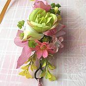 Украшения ручной работы. Ярмарка Мастеров - ручная работа Браслеты из цветов для подружки невесты. Handmade.