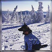 Для домашних животных, handmade. Livemaster - original item Winter jacket for big dogs. Handmade.
